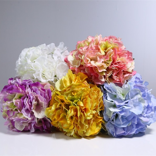 Silk hydrangea flower artificial flowers yafloral silk hydrangea flower hydrangea mightylinksfo Image collections