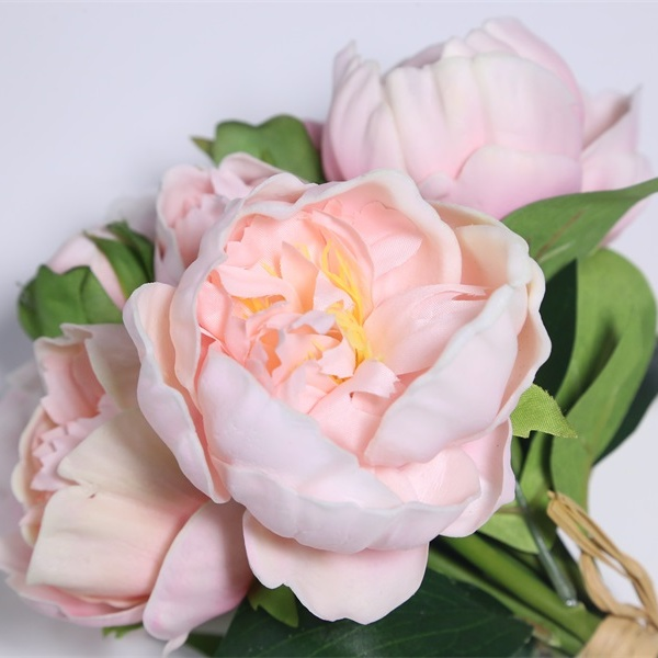 Real Touch Peony Bouquet Artificial Flowers
