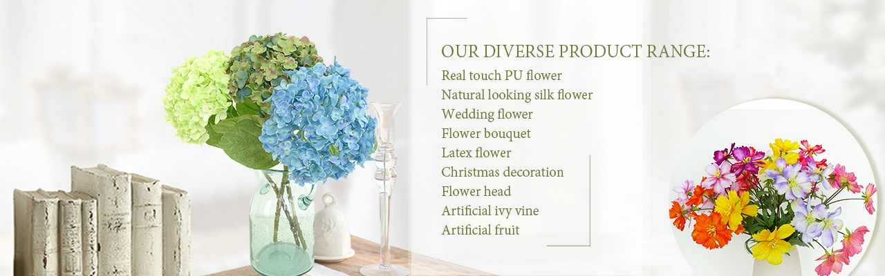 Artificial Flowers Real Touch Flowers Silk Flowers Yafloral